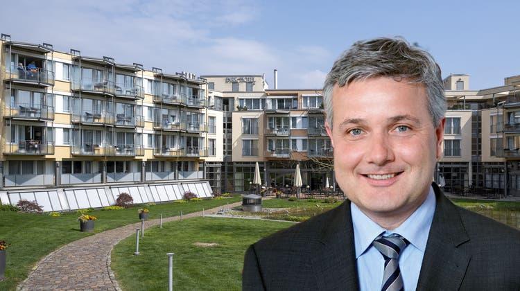 Im Januar war das Parkhotel in Bad Zurzach an den Wochenenden fast ausgebucht, unter der Woche stand es beinahe leer. (Alex Spichale)