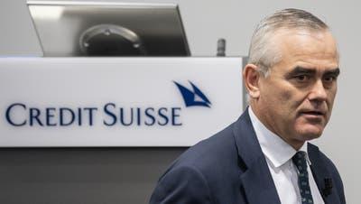 «Wir setzen alles daran, dass die Credit Suisse gestärkt aus dieser Situation hervorgehen wird.» CEO Thomas Gottstein will Lehren ziehen. (Ennio Leanza / AP)