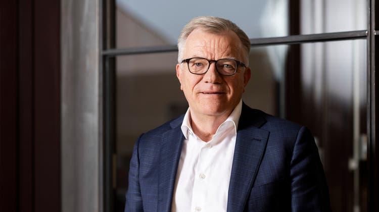 Hansueli Loosli wird neuer Verwaltungsratspräsident von Pilatus. (Severin Bigler)