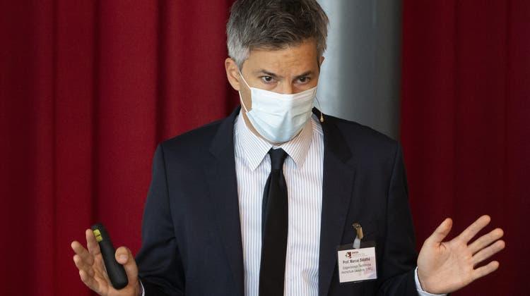DasCovid-Zertifikat soll so minimalistisch wie möglich ausgestaltet werden, soEpidemiologe Marcel Salathé. (Keystone)