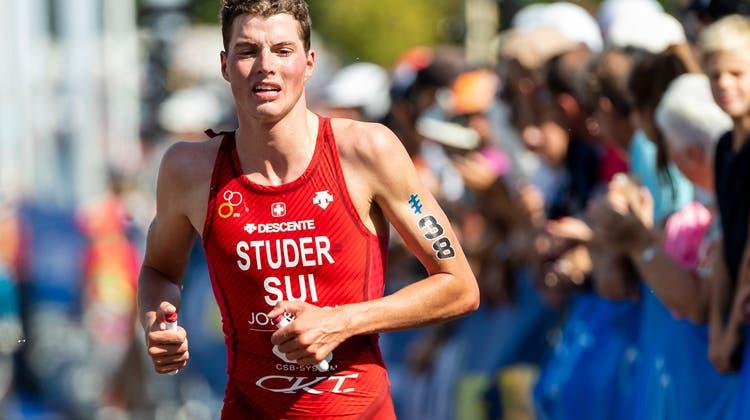 Endlich wieder ein Wettkampf: Max Studer steht am Samstag auf Gran Canaria im Einsatz. (Pascal Muller/Freshfocus)