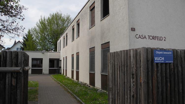 Die Unterkunft für Flüchtlinge in Buchs: Casa Torfeld (Daniel Vizentini)
