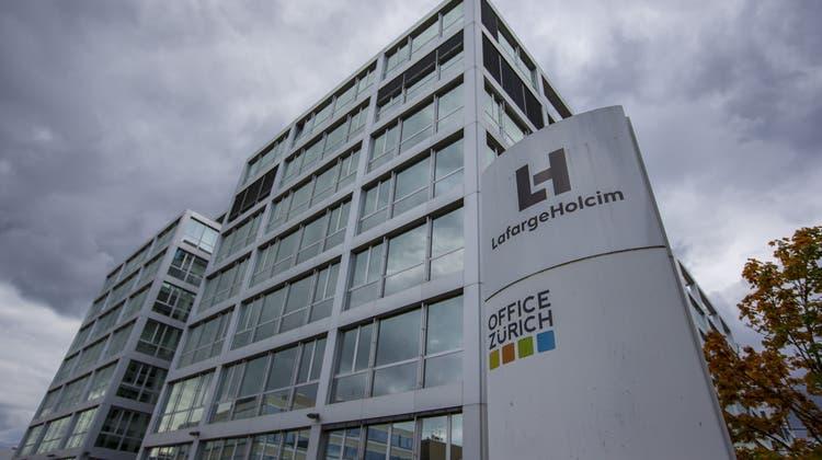 Lafarge Holcim kann ein deutliches Plus beim Betriebsgewinn im ersten Quartal 2021 vorweisen. (Keystone)