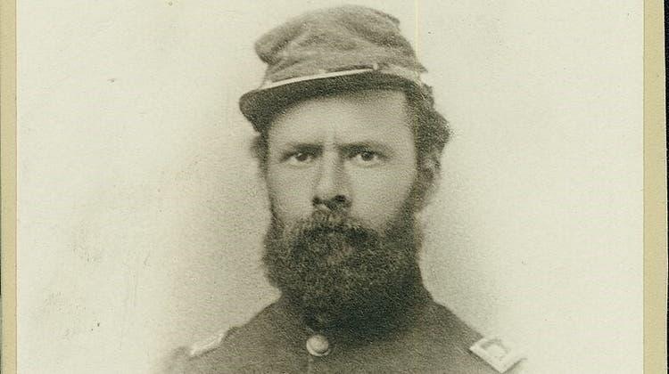 Arnold Sutermeister (1830 bis 1907), aufgewachsen in Aarau, wanderte mit 16 Jahren in die USA aus und kämpfte im Amerikanischen Bürgerkrieg. (zvg)