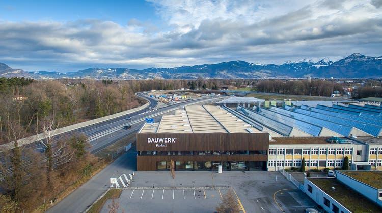 Die Bauwerk Group hat ihren Hauptsitz in Sankt Margrethen. (Michel Canonica)