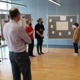 Präsentation der Visionen der Jugendlichen im Ägerital. (Bild: PD)