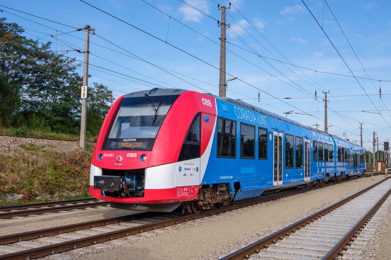 Bald grösste Wasserstoff-Zug Flotte in Frankfurt