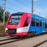 Der Wasserstoffzug Coradia iLint von Alstom auf Testfahrt bei den ÖBB im vergangenen Jahr. (Bild: Christoph Busse/PD)