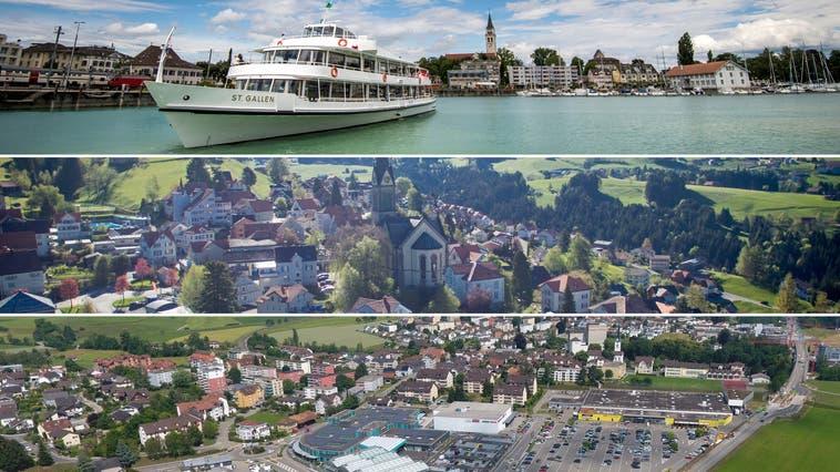 Die Stars heissen Romanshorn, Rehetobel und Rickenbach: Was unsere neuen Gemeindeseiten bieten – und was Sie dazu beitragen können