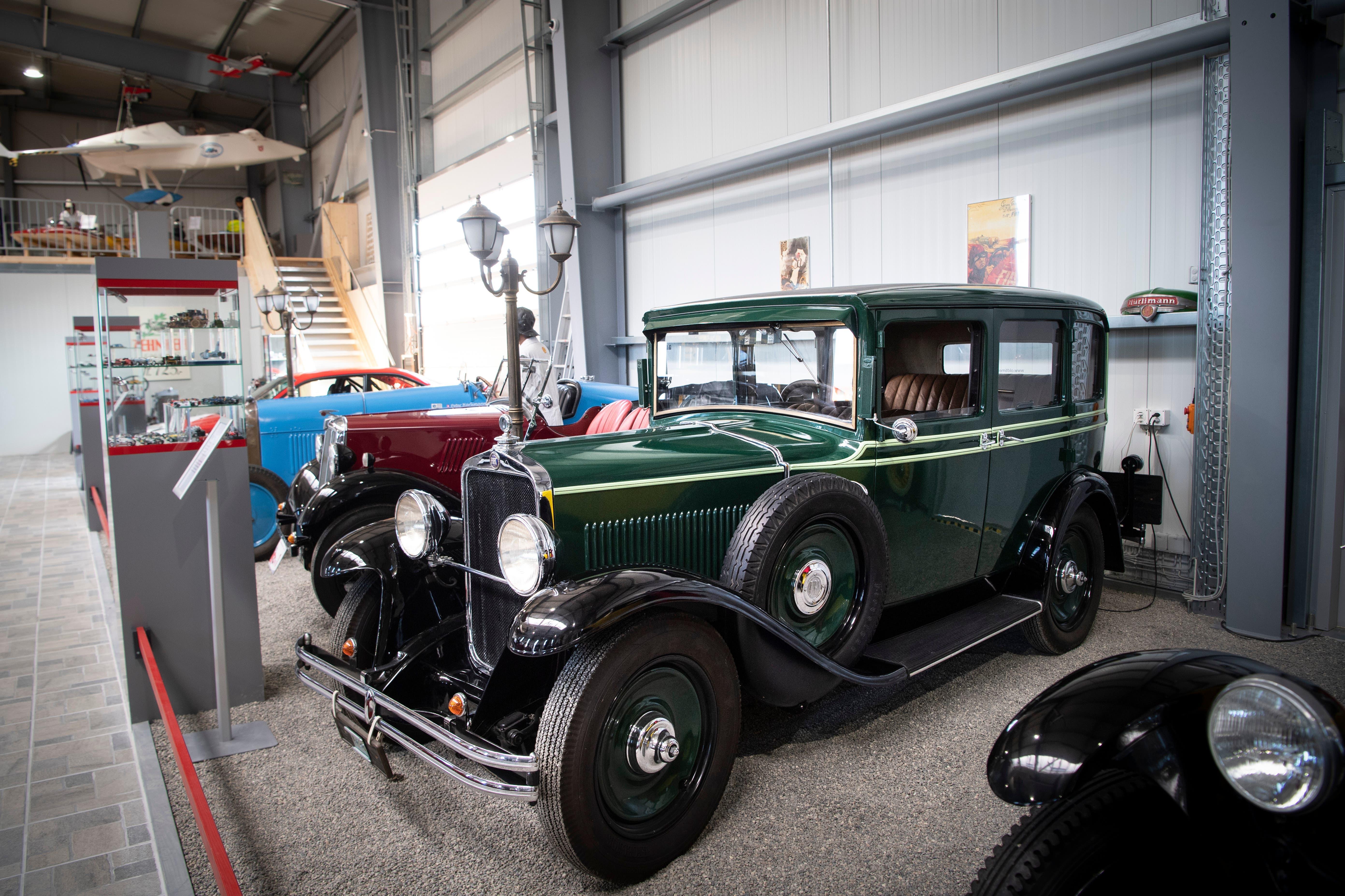 Ungefähr ein Jahr: So lange dauere die Restauration eines Fahrzeuges im Durchschnitt.