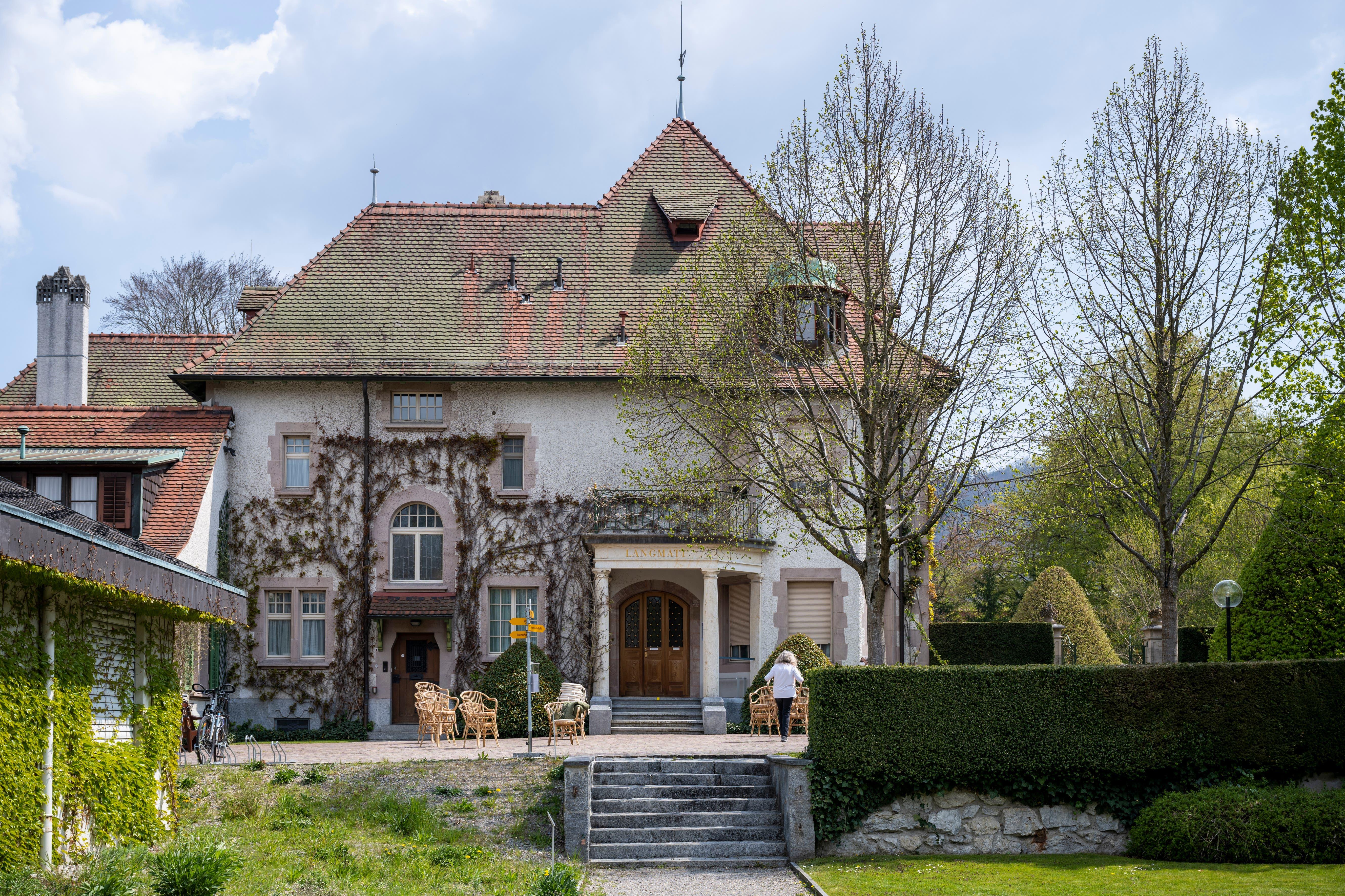 John Alfred Brown – der letzte Sprössling von BBC-Mitbegründer Sidney W. Brown – vermachte der Stadt Baden die Villa-Langmatt.