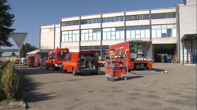In Recherswil verübte jemand innerhalb einer Woche zwei Anschläge mit Buttersäure auf das Bordell in Recherswil. (TeleM1)