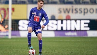 FCL-Verteidiger Marco Burchim Spiel gegen Lausanne. (Bild: Martin Meienberger (21. April 2021))