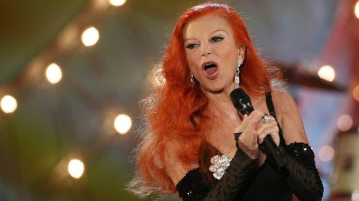 Die roten Haare waren eines ihrer Markenzeichen. (Foto: Keystone)