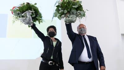Sandra Kolly (CVP) und Peter Hodel (FDP) werden in die Solothurner Regierung gewählt – der 2.Wahlgang zum Nachlesen