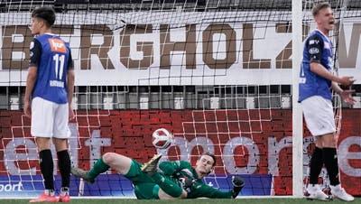 Trainer Stephan Keller wollte in der Vorbereitung aufs Spiel gegen Winterthur etwas verändern und ein Zeichen setzen. (Martin Meienberger)
