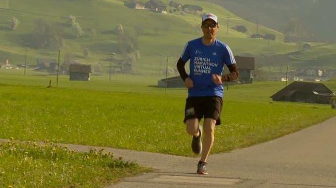 Zürich Marathon - wegen Corona virtuell aber prominent besetzt