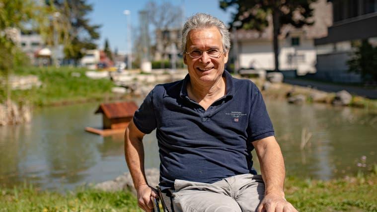 Hans-Peter Berger freut sich auf seine sechste Legislatur als Gemeindepräsident von Langendorf. (Tom Ulrich)