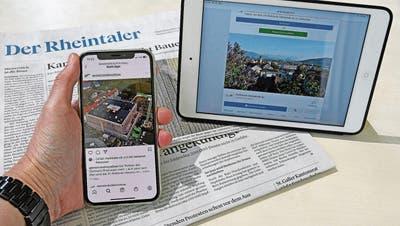 Rheintaler Gemeinden und die Neuen Medien: Wer postet, erreicht mehr Bürger