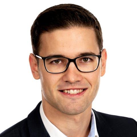 Sascha Schmid, Kantonsrat und Fraktionsvizepräsident der SVP St.Gallen.