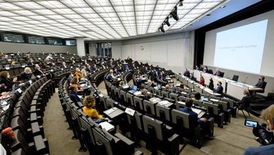 Im Basler Parlament hat der Vorstoss für die Offenlegung der Parteifinanzen gute Chancen auf eine Mehrheit. (Kenneth Nars)