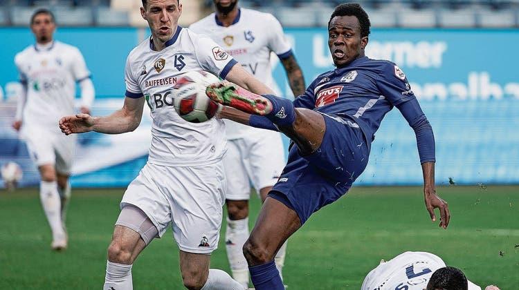 Für FCL-OffensivmannIbrahima Ndiaye war das einfache Leben in Senegal Motivationsquelle: Um Profi zu werden, hat er viel gearbeitet