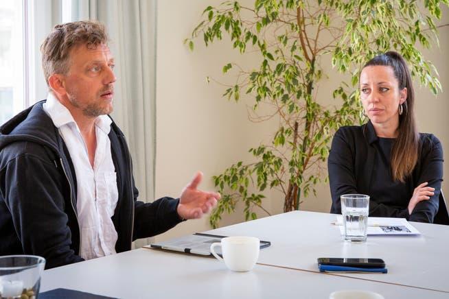 Jenny Heeb und Peter Olibet sollen das neue Co-Präsidium der SP der Stadt St.Gallen bilden. Gewählt wird diesen Donnerstag.