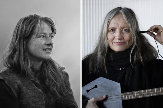 Autorin Pia Solèr (links) und Singer/Songwriterin Corin Curschellas treten am Sonntag in der St.Galler Grabenhalle auf.