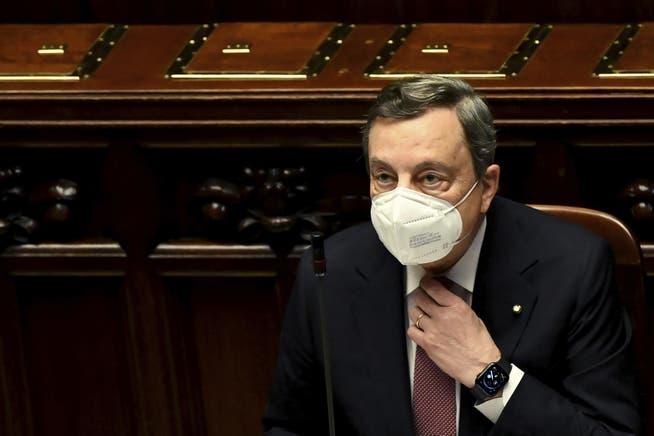 Mario Draghi will auf den europäischen Impfpass setzen.