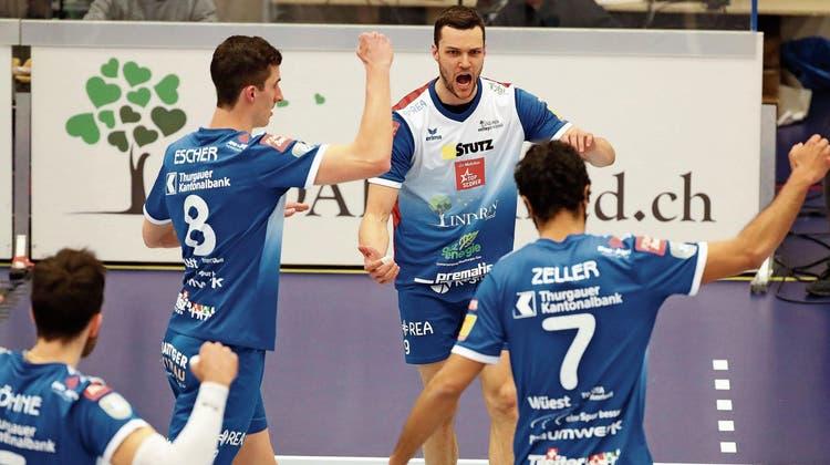 Amriswil sucht den Superstar: Wie Thurgaus Volleyball-Aushängeschild eine Meistermannschaft auf die Beine stellen will