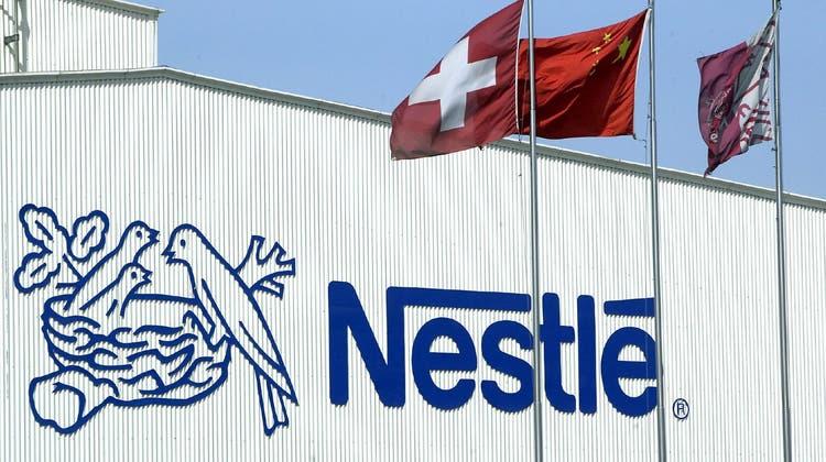 Nestlé plant eine weitere Übernahme. Im Visier hat der Konzern einen US-Vitaminhersteller. (Keystone)