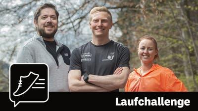 Zusammen zum 10-Kilometer-Lauf: Wir starten die «Tagblatt»-Laufchallenge. (Bild: Benjamin Manser (St.Gallen, 16. April 2021))
