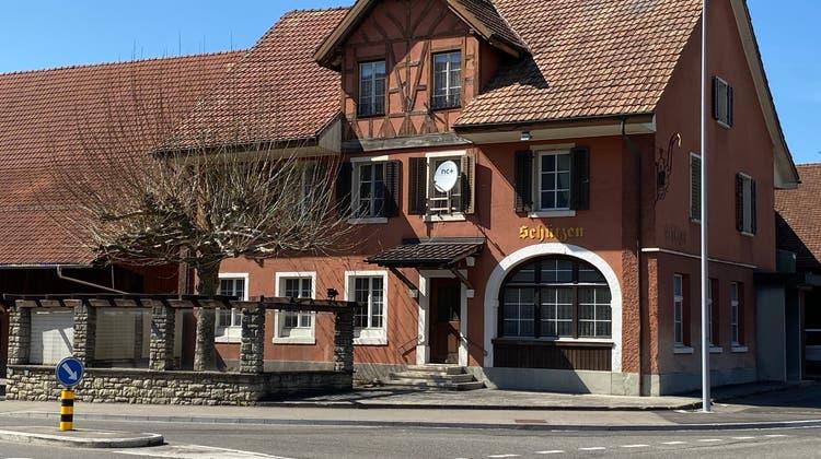 Das ehemalige Restaurant Schützen Endingen. (Daniel Weissenbrunner)