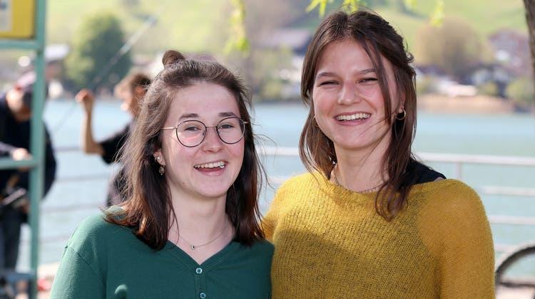 Irina Bucher (links) und Simone Reinhard. (Bild: PD)
