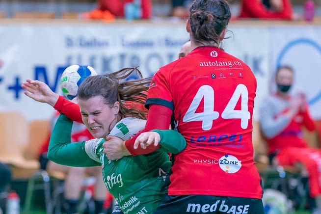 Um ins Final zu kommen und den Meistertitel von 2019 verteidigen zu können, müssen die Handballerinnen des LC Brühl den HSC Kreuzlingen zweimal schlagen. Das erste Spiel findet am Mittwochabend statt.