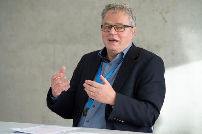 André Rotzetter, Geschäftsführer des Vereins für Altersbetreuung im Oberen Fricktal und Spartenpräsident Pflegeinstitutionen der VAKA. (Archivbild)