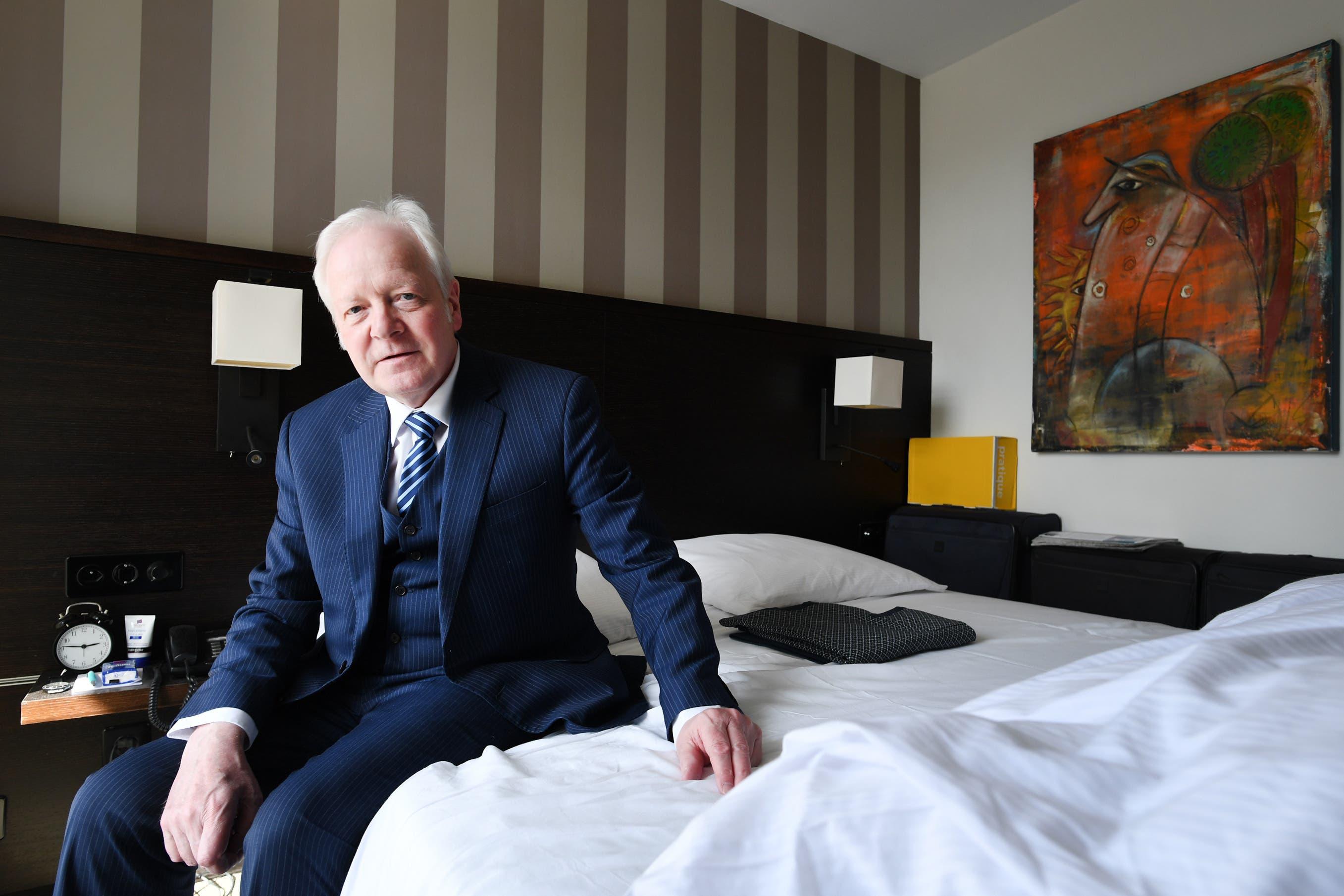 Fritz Schenkel, Hotelier aus Hanoi, wohnt seit dem 17. April 2020 im Park Hotel in Zimmer 406 in Winterthur.
