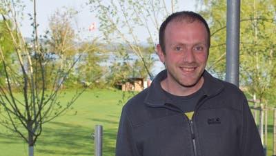 Der neue Betriebsleiter des Strandbades Tennwil, Marco Fankhauser (Toni Widmer)