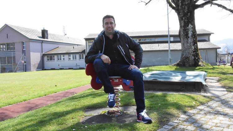Der Hemberger Schulrat Werner Frei ist verantwortlich für das Projekt Mehrzweckhalle. (Urs M. Hemm)