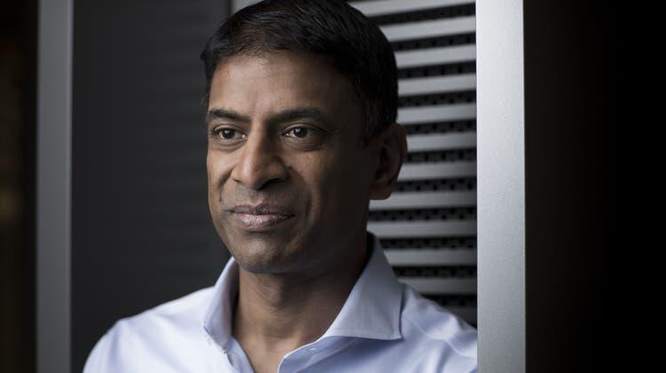 Novartis-Chef Vasant Narasimhanbekennt sich zur Tochterfirma Sandoz. (Jason Alden / Bloomberg)