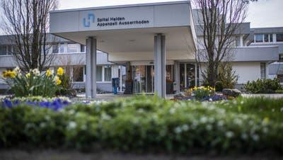 Weil das finanzielle Defizit zu gross ist, hat der Spitalverbund Appenzell Ausserrhoden (Svar) beantragt, das Spital Heiden per Ende 2021 zu schliessen. (Bild: Gian Ehrenzeller / KEYSTONE)