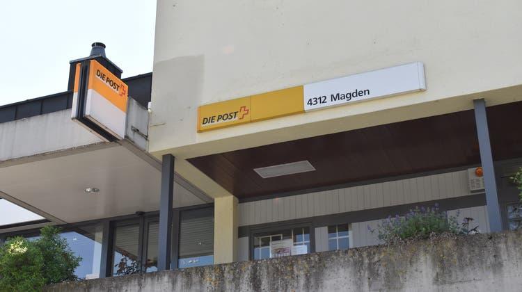 Die Postfiliale in Magden wird geschlossen, stattdessen werden die Postdienstleistungen künftig im Coop angeboten. (Nadine Böni)