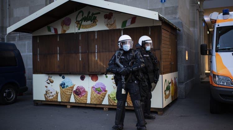 Mit dem neuen Sicherheitspolitischen Bericht will die Schweiz auf neue Bedrohungen reagieren. (Keystone)