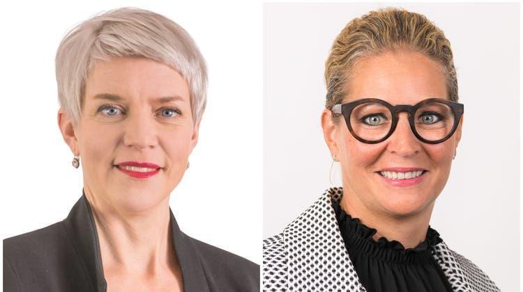 Claudia Wedekind (links) und Melanie Casanova (Bilder: PD)