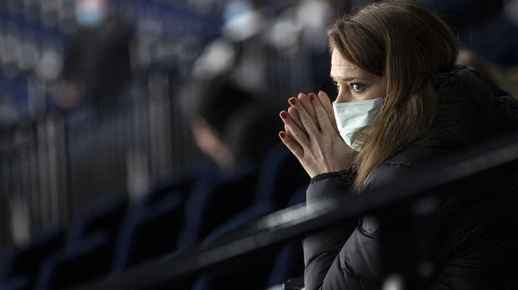 Florence Schelling ist nicht mehr Sportchefin beim SC Bern. (Alexandra Wey / KEYSTONE)