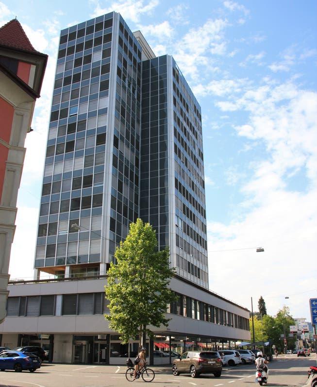 Das BT-Hochhaus in Baden, wo die AZ Medien ihren historischen Ursprung haben.