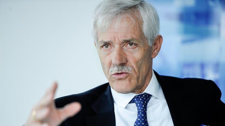 Ueli Vischer, abgetretener Präsident der MCH Group. (Bild: Nicole Nars-Zimmer)