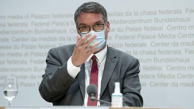 Ständerat Christian Levrat (SP/FR) ist an der Generalversammlung der Post zumneuem Präsidenten gewählt worden. (Keystone)