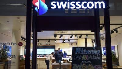 Der Schweizer Markt sei weiterhin gesättigt, schreibt die Swisscom. (Keystone)