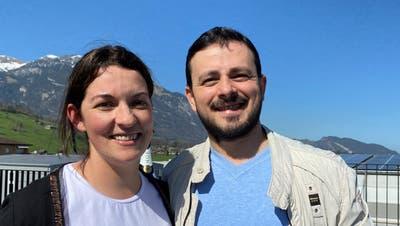 Das Wirtepaar Marlene und Vincenzo Mancuso übernimmt den Kägiswiler «Adler» zusätzlich zum RestaurantNuovo Baumgarten in Alpnach. (Bild: PD)